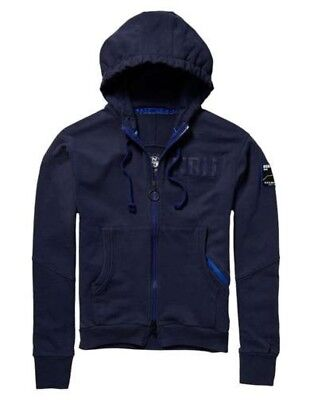 Felpa Uomo Full Zip Con Cappuccio North Sails
