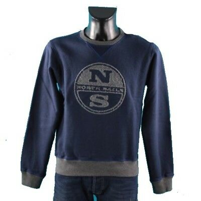 Felpa Uomo Crew Neck Embrodery North Sails
