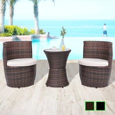 Astonishing Corvus Sarcelles Woven Wicker Patio Chairs Set Of 2 Gmtry Best Dining Table And Chair Ideas Images Gmtryco