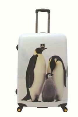 NATIONAL GEOGRAPHIC Penguin Hard Side Luggage 2pc Set FREE POSTAGE BNWT