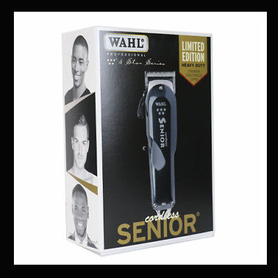 Wahl 5 Star Senior Cordless/Cord Barbers Professional Clipper LIMITED EDITION
