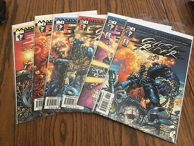 6 Marvel Knights Ghost Rider Comics Issue 1-6 2001
