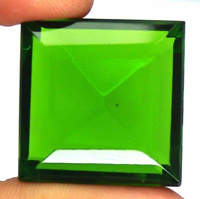 92.40 Ct EGL Certified A1 Quality Green Moldavite Gemstone Pendent Size AM436
