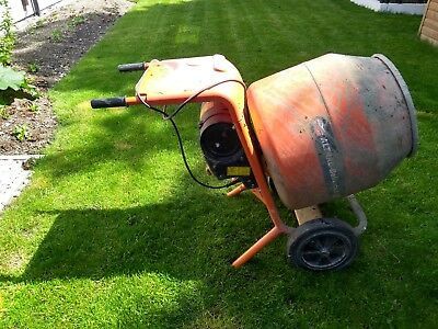 Cement mixer - 240v Electric Belle 150 with stand - 2016