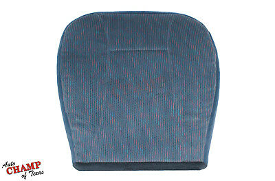 1994 1995 1996 Ford Bronco XLT 4X4 2WD -Driver Side Bottom Cloth Seat Cover Blue