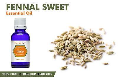Fennel Sweet Essential Oil 100% Pure Natural Aromatherapy Therapeutic Oils