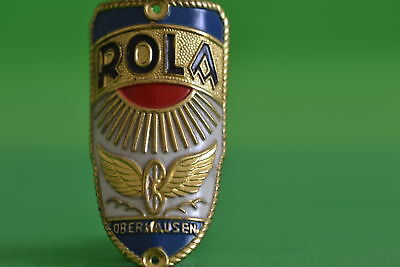 Vintage bicycle - Plate Logo Producer-Rola -4592