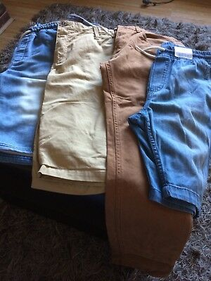 Bundle Of Boys Trousers/shorts H&M 11-12 Years