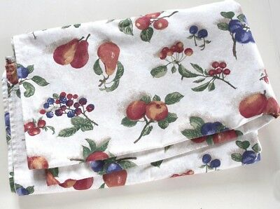 Longaberger Fruit Medley Table Cloth- Square  50x50