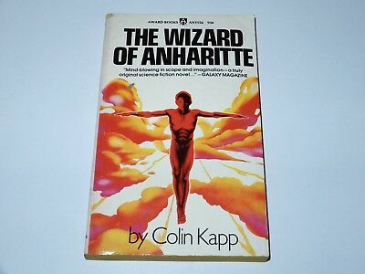 The Wizard Of Anharitte - Colin Kapp - Award Books 1St Pbo 1973 Sci-Fi Sf
