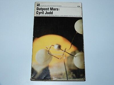 Outpost Mars - Cyril Judd - Four Square 1St Pbo 1966 Sci-Fi Sf