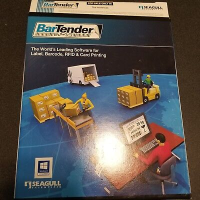 Seagull Scientific BT-PRO Bartender 2012 v10  Professional Edition Label Barcode