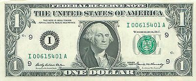 1969 series I/A (MINNEAPOLIS) $1 Federal Reserve Note One Dollar Bill