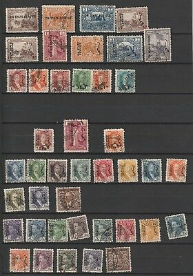 Iraq lot used on state service stamps