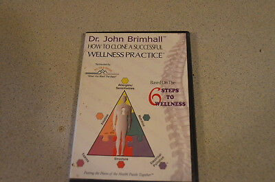 John Brimhall seminar on DVDs How to Clone a Successful Wellness Practice basic