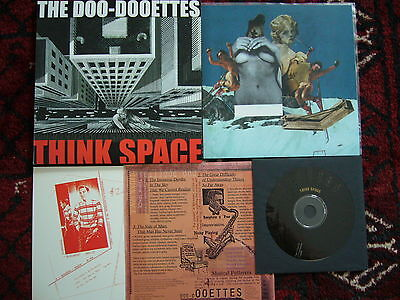 "Doo-Dooettes – Think Space  7""+Cd 3 Inserts Limited Edition 700 Copies Lafms"
