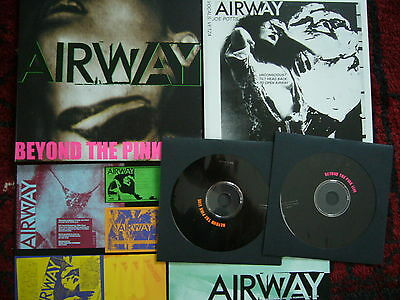 "Airway – Beyond The Pink Live  7""+Cd +2 Inserts Limited Edition 700 Copies Lafms"