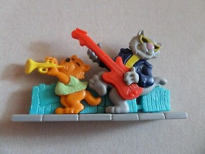 1996 Kinder Ü-Ei Puzzle Katzen Musik Unplugged Street Life in Mainhattan 700991