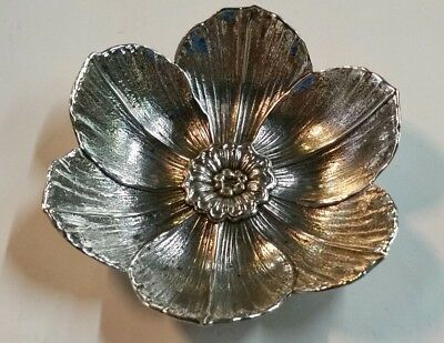 Gianmarie Buccellati Narcissus Flower Dish Sterling Silver 925 Bowl