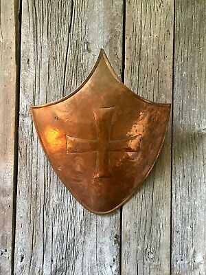 Hand Made Copper Shield, Early 20th Century