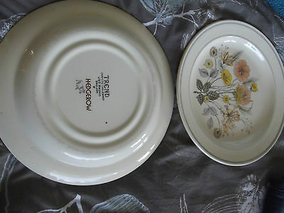 J And G Meakin Trend Hedgerow Tea Plates X 6