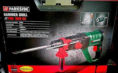 Hammer Drill. Parkside Pbh 1050 B2. New! Made In Germany