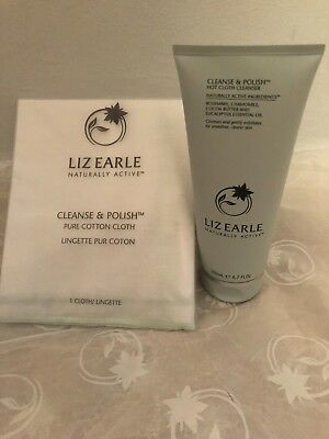 Cleanse & Polish™ Hot Cloth Cleanser 200ml and 1x pure cotton cloth
