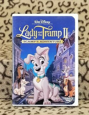 Lady And The Tramp Ii Scamp's Adventure Dvd Disney Sequel Children's Animated