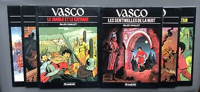 Lot Vasco 6 albums. Lombard. G.Chaillet