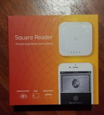 New Sealed Square Universal Credit Card Reader Checkout POS Register Chip Swiper