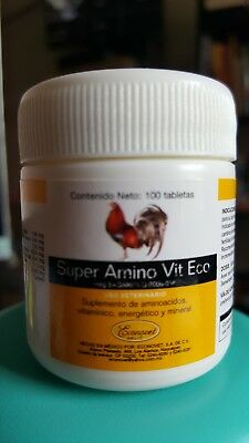 Gallos - Super Amino Vit Eco 100 tabs - Econovet