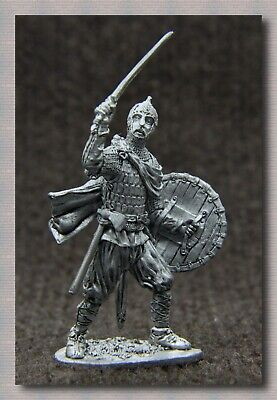 """Tin soldiers """" Middle Ages """" (54 mm, 1/32) # M 22 Ancient Russian warrior"""