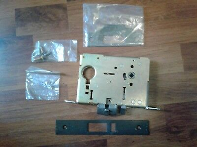 Schlage Mortise Lockset Set L Series Aged Bronze Burglary Resistant 1Ya8