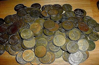 LOT of 150 Plus HAUNTED TRAILS Coins Tokens