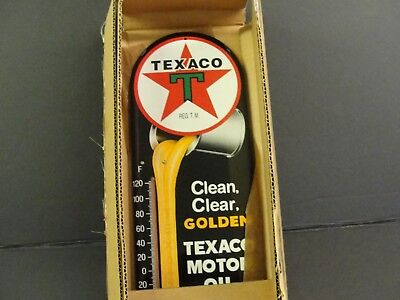 Texaco Motor Oil Thermometer - New In The Box