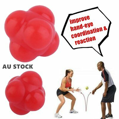 Silicone Reaction Ball Agility Coordination Reflex Exercise Training BallHW