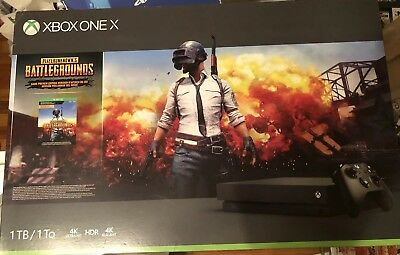 Xbox One X 1TB Console – PUBG Bundle