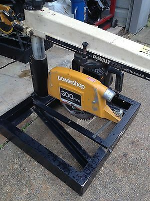 "Dewalt Radial Arm Saw Model 7790 3.5 HP 120VOLT 12 "" Blade 4''deep CUT 12''wide"