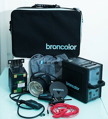 Broncolor Mobil A2L with Litihium Battery with MobiLED Lamphead and Pocket Wizar