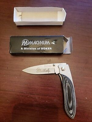 Magnum A Division Of Adker Weatherby Knife