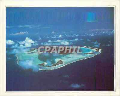 Modern Postcard Mautipi the Island seen of plane