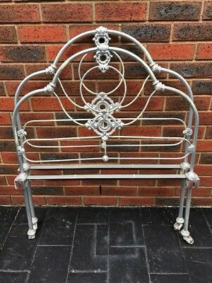 Antique Single Iron Bed