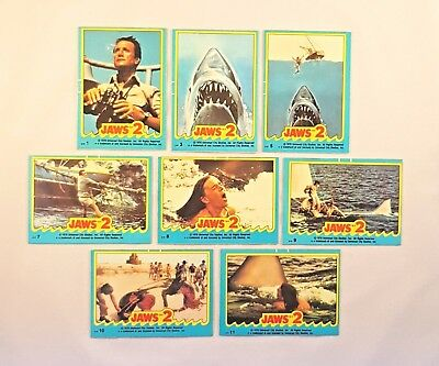 Jaws 2 Collector Stickers