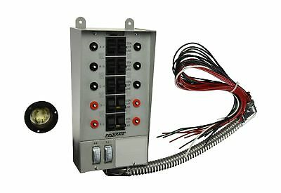 Reliance Controls Corporation 30310A Pro/Tran 30-Amp Indoor Transfer Switch f...