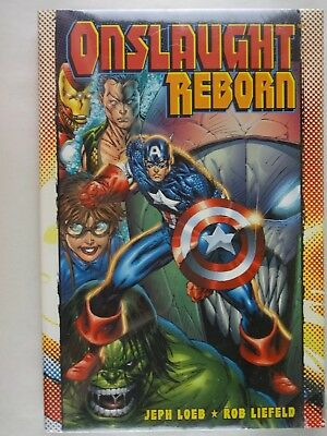 Onslaught Reborn   Loeb   Liefeld   New/Factory Sealed   Hardcover