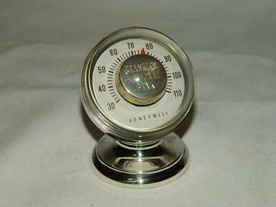 Tiffany & Co. Makers Sterling Silver 25007 Honeywell Desktop Thermometer #2