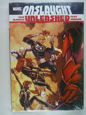 Onslaught Unleashed   Andrade   McKeever   New/Factory Sealed   Hardcover