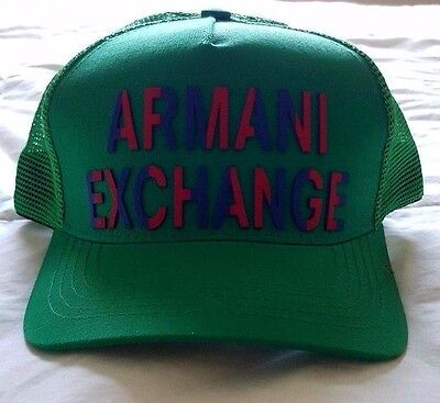 47e2c5aeac1 Brand New Armani Exchange A X Men s Hat Cap Logo
