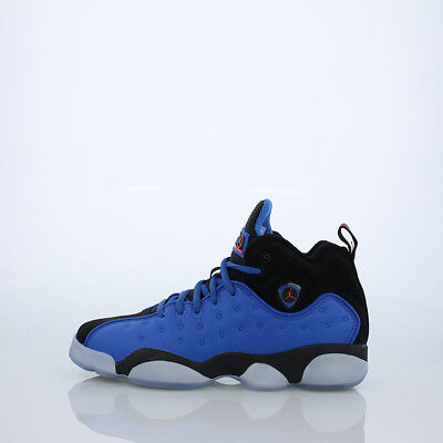 e08b7e61a9674f Sale Jordan Jumpman Team Ii Premiium Gs Bg Blue Black 861435 400 Kids 2 New