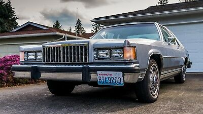 1984 Mercury Grand Marquis  1984 Grand Marquis LS, 96 000 ORIGINAL MILES, 1 OWNER ONLY.